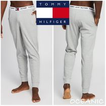 【Tommy Hilfiger】Cotton Logo Joggers ロゴ パジャマ パンツ