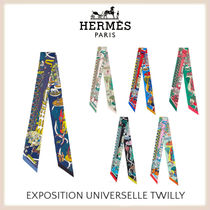 ★HERMES直営店★ Twilly Exposition Universelle ツイリー