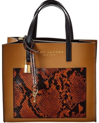 """MARC JACOBS ショルダーバッグ・ポシェット MARC JACOBS """"Mini Grind"""" パイソン カラーブロック 2WAYバッグ(8)"""