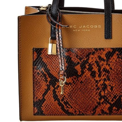 """MARC JACOBS ショルダーバッグ・ポシェット MARC JACOBS """"Mini Grind"""" パイソン カラーブロック 2WAYバッグ(7)"""