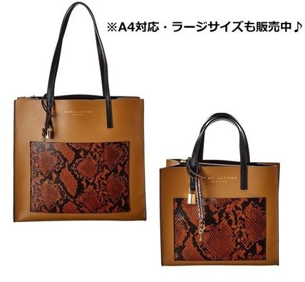 """MARC JACOBS ショルダーバッグ・ポシェット MARC JACOBS """"Mini Grind"""" パイソン カラーブロック 2WAYバッグ(14)"""