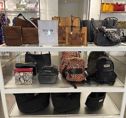 """MARC JACOBS ショルダーバッグ・ポシェット MARC JACOBS """"Mini Grind"""" パイソン カラーブロック 2WAYバッグ(15)"""