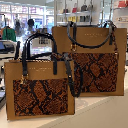 """MARC JACOBS ショルダーバッグ・ポシェット MARC JACOBS """"Mini Grind"""" パイソン カラーブロック 2WAYバッグ(4)"""