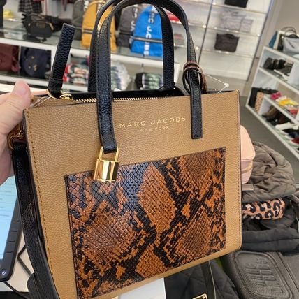 """MARC JACOBS ショルダーバッグ・ポシェット MARC JACOBS """"Mini Grind"""" パイソン カラーブロック 2WAYバッグ(3)"""