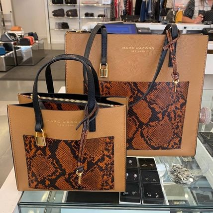 """MARC JACOBS ショルダーバッグ・ポシェット MARC JACOBS """"Mini Grind"""" パイソン カラーブロック 2WAYバッグ"""