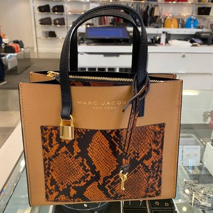 """MARC JACOBS ショルダーバッグ・ポシェット MARC JACOBS """"Mini Grind"""" パイソン カラーブロック 2WAYバッグ(2)"""