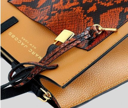 """MARC JACOBS ショルダーバッグ・ポシェット MARC JACOBS """"Mini Grind"""" パイソン カラーブロック 2WAYバッグ(6)"""