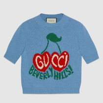 "∞∞ GUCCI ∞∞ ""BEVERLY HILLS"" cherry intarsia ニット☆"