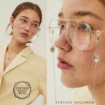 VINTAGE HOLLYWOOD★Mini Daisy Glasses String メガネチェーン