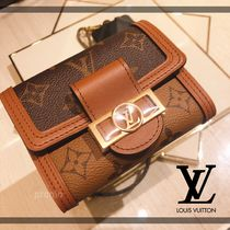 【LOUIS VUITTON】 ポルトフォイユ・ドーフィーヌ コンパクト
