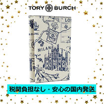 国内発送【Tory Burch】Perry Printed Passport Case