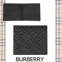 ★BURBERRY★EMBOSSED BILLFOLD WALLET 高級感あるデザイン♪
