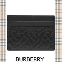 ★BURBERRY★EMBOSSED SANDON CARD HOLDER エンボスデザイン♪