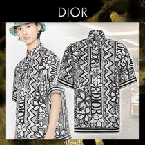 【20PF NEW】Dior_men/ DIOR AND SHAWNシャツ / BLACK