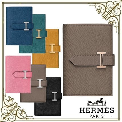 HERMES☆財布 ベアン ミニ コンパクト財布 レザー ギフトに