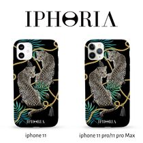 【IPHORIA】Black Leopards iPhone11/11Pro/11ProMax対応ケース