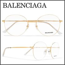 関税送料込み【BALENCIAGA】Round Frame Optical Glasses