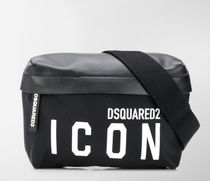 DSQUARED2 /ICON print belt bag