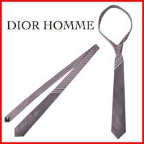 Dior Homme◆20SS シルクネクタイ グレー◆正規品◆