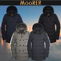 【MooRER】20AW FLORIO-KN ダウンピーコート4色