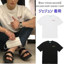 【hour minute seconds】MIX LOGO  T-SHIRT ジェジュン 着用