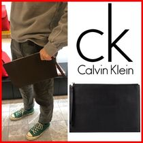 ★CALVIN KLEIN★ミディアム ポーチ クラッチバッグ☆正規品☆