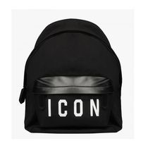【国内即発&送料無料】NEW! Dsquared2 BACKPACK ICON /BLACK