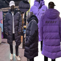 ★NERDY★韓国 大人気 ダウン NY Track Solid Long Down Jacket