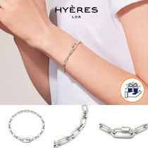 HYERES LOR(イエールロール) ブレスレット [HYERES LOR] Noailles Silver Link Chain Bracelet S★BTS着用