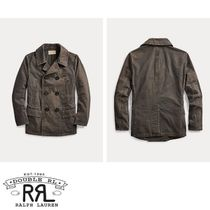 【RRL】Washed Canvas Peacoat キャンバスピーコート