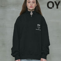 ★OY★BASIC LOGO ZIPPER MTM-BLACK★正規品/韓国直送料込