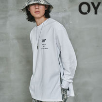 ★OY★METAL SIDE ZIPPER SLEEVE T-WHITE★正規品/韓国直送料込