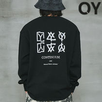 ★OY★CRACK TRIPLE LOGO SLEEVE T-BLACK★正規品/韓国直送料込