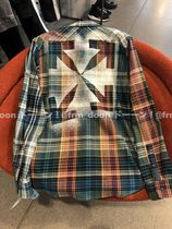 【Off-White】20/21AW新作 チェック FLANNEL CHECK SHIRT