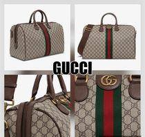 【GUCCI】OPHIDIA GG MEDIUM CARRY-ON DUFFLE★20FW