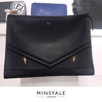 【FENDI OUTLET 新品】CLUTCH BAG CALF LEATHER クラッチ
