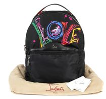 Christian Louboutin★LOVE graffiti backpack【EMS関税込】