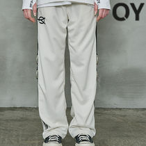 ★OY★WIDE TAPE RING TRACK PANTS-CREAM★正規品/直送料込