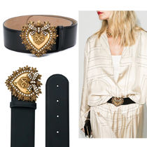DOLCE&GABBANA DEVOTION BELT LUX LEATHER