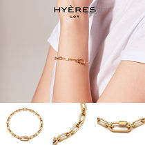 HYERES LOR(イエールロール) ブレスレット [HYERES LOR] Noailles Silver Link Chain Bracelet S-Y BTS着用