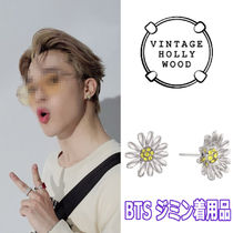 【Vintagehollywood】Mini Daisy Post Earring ★Jimin 着用品★