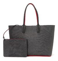 ルブタン★cabata leather tote bag black【関税込EMS謝恩品】