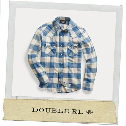 ★ RRL ★アメカジ ★ 2020秋冬 Slim Plaid Twill Western Shirt