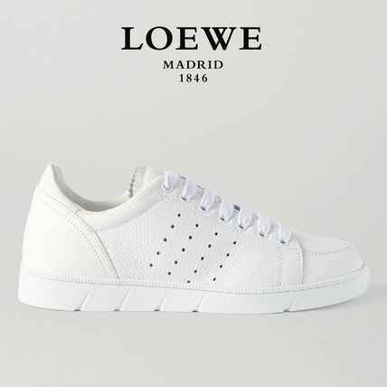 LOEWE スニーカー ∞∞ LOEWE ∞∞  Textured-leather スニーカー☆