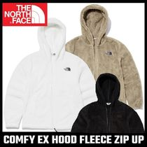 【THE NORTH FACE】COMFY EX HOOD FLEECE ZIP UP