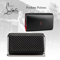 20AW★新作★ルブタン★Paloma clutch クラッチバッグ