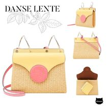 DANSE LENTE*MINI PHOEBE FOLIO LEMON/WATERMELON CROC