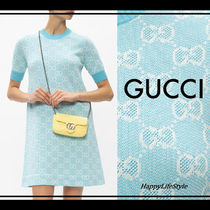 lovely♪◇GG ジャガード Knit Dress◇GUCCI