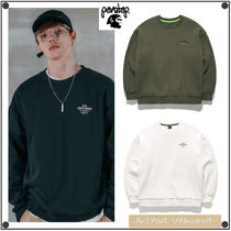 日本未入荷perstepのSemi Circle Mountain Sweatshirt 全3色