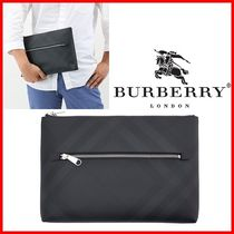 ★Burberry★London Check Clutch Bag ☆正規品・安全発送☆